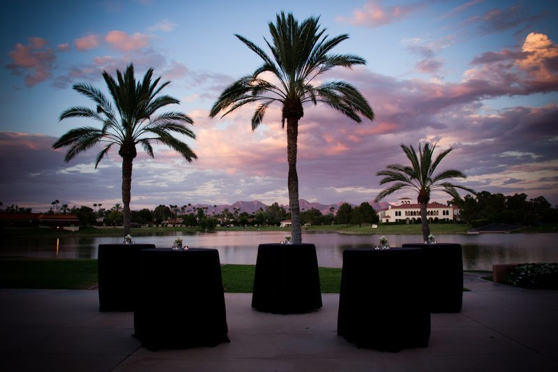 McCormick Scottsdale evening view of lake