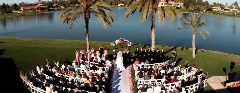 Lakeside wedding at The McCormick Scottsdale