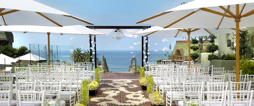 Sunset Terrace wedding LAuberge del Mar