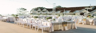 L'Auberge Del Mar wedding reception chairs