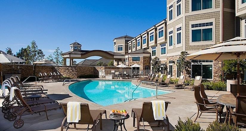 West Inn & Suites Pool