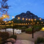A wedding-worthy patio at The Boulders' Spa