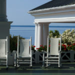 The Grand Hotel's wedding-worthy front porch, Mackinac Island, Michigan